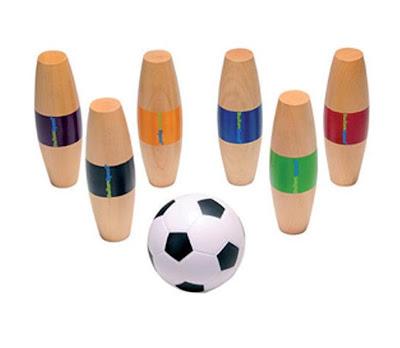 Voetbalspel voor binnen en buiten