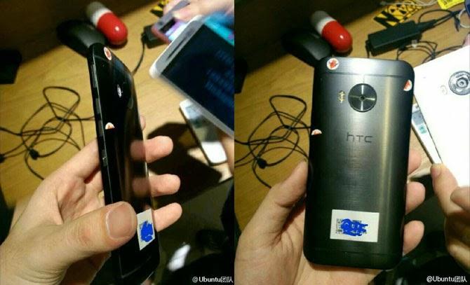 Lộ ảnh thật HTC One M9 Plus