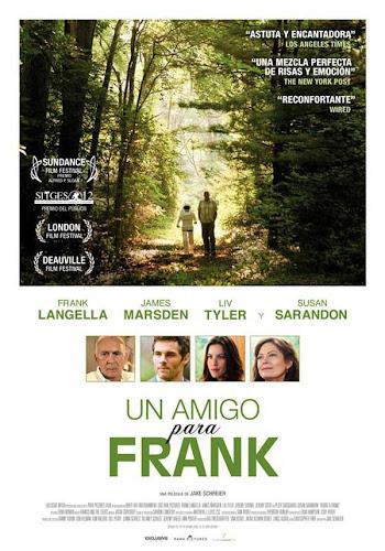 Un amigo para Frank, cartel