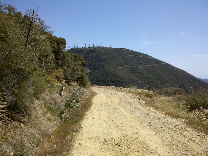 Dana Point - Santiago Peak - Dana Point • Main Divide Road