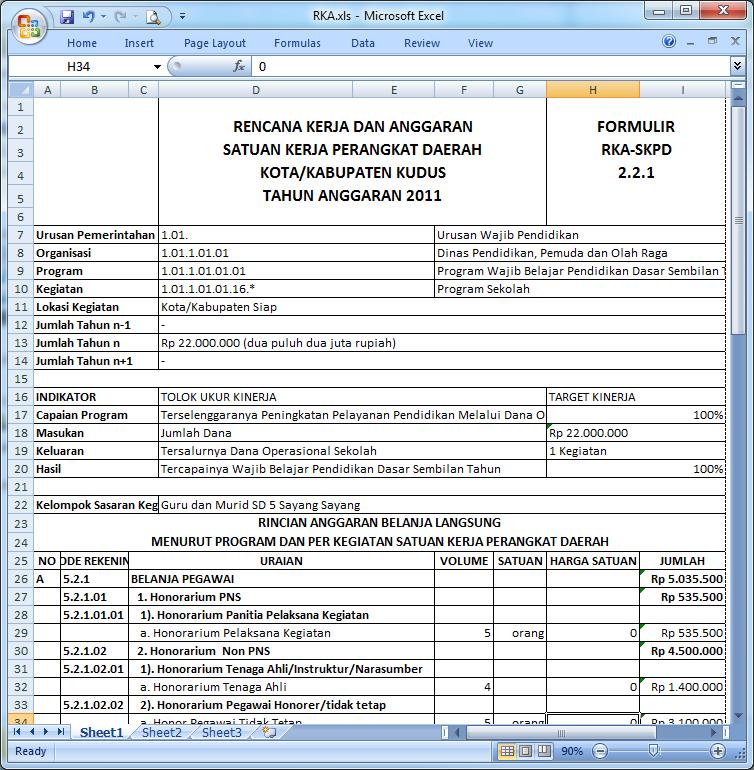 Download Software Rkas Dan Spj Bos 2013 Sd Negeri