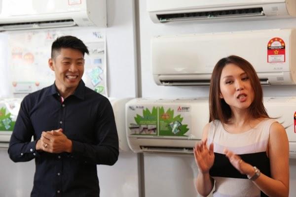 Darren dan Julie Woon