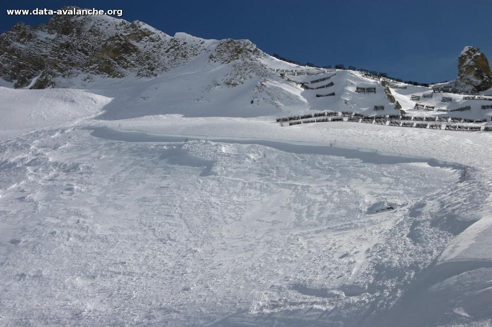 Avalanche Haute Tarentaise, secteur Pointe du Lavachet, Tovière - Photo 1 - © Duclos Alain