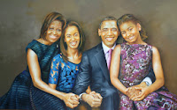 Image of Barack Obama and Family