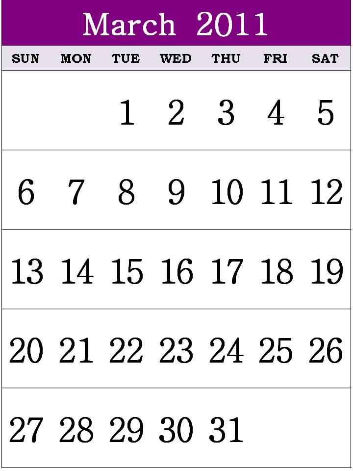 march calendar 2011 holidays. sep March+calendar+2011+