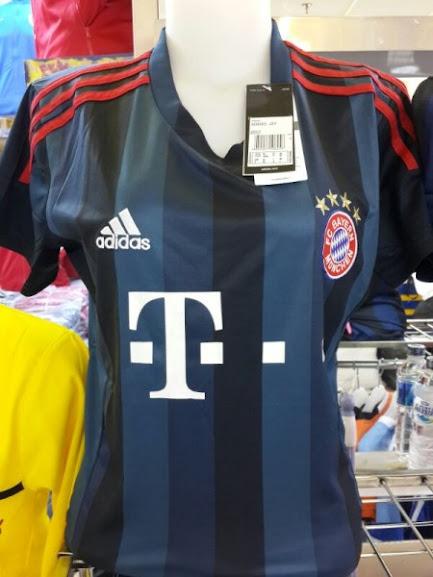 Jual Jersey Wanita Bayern Munchen 3rd 2014