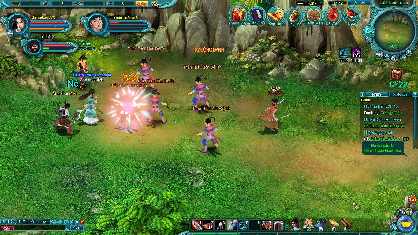 Hình ảnh thử nghiệm webgame Tiểu Lý Phi Đao - Ảnh 14