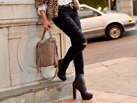 customização - jeans rasgado