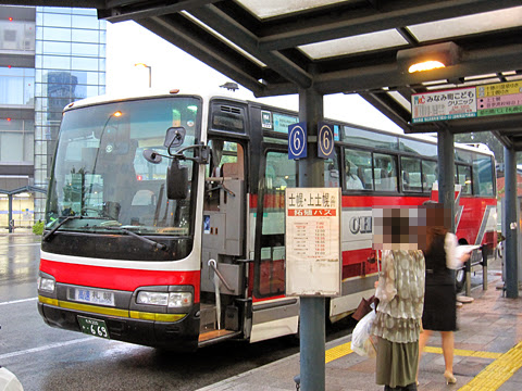北海道中央バス「ポテトライナー」 ・669 帯広駅バスターミナル改札中