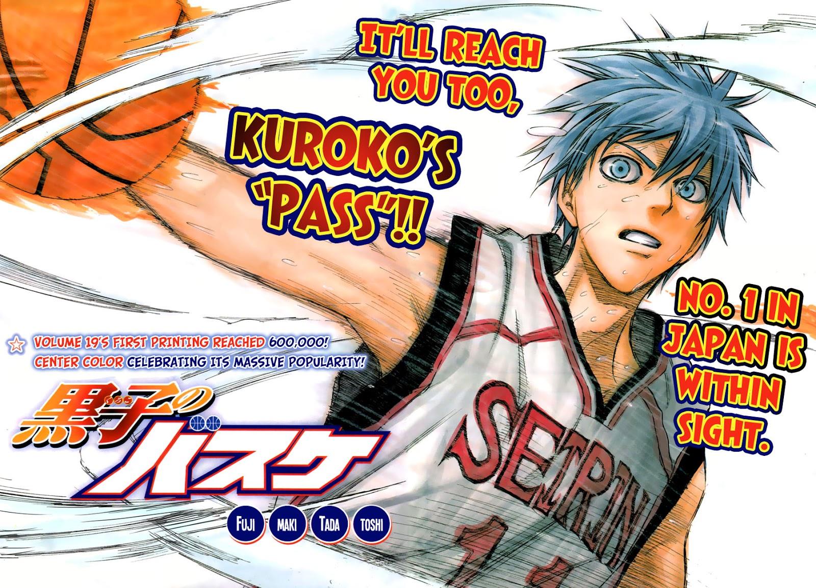 Kuroko no Basket Manga Chapter 178 - Image 03-04