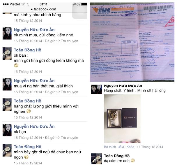Đồng Hồ G-Shock,Baby-G Super Fake,Casio Edifice,Armani,Montblanc update liên tục ! - 5