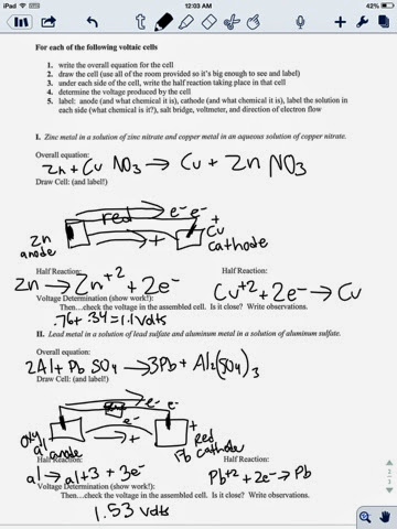 curtis layton chemistry electrochemical cell worksheet. Black Bedroom Furniture Sets. Home Design Ideas