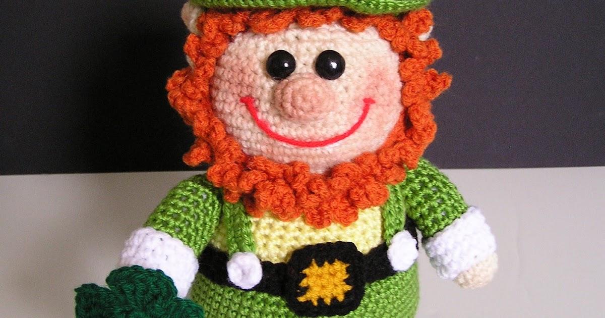 Free Amigurumi Leprechaun Pattern : Crochetbykarin: leprechaun envy