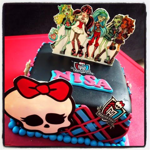 Stupendous Mimims Cupcake Monster High Birthday Cake Funny Birthday Cards Online Fluifree Goldxyz