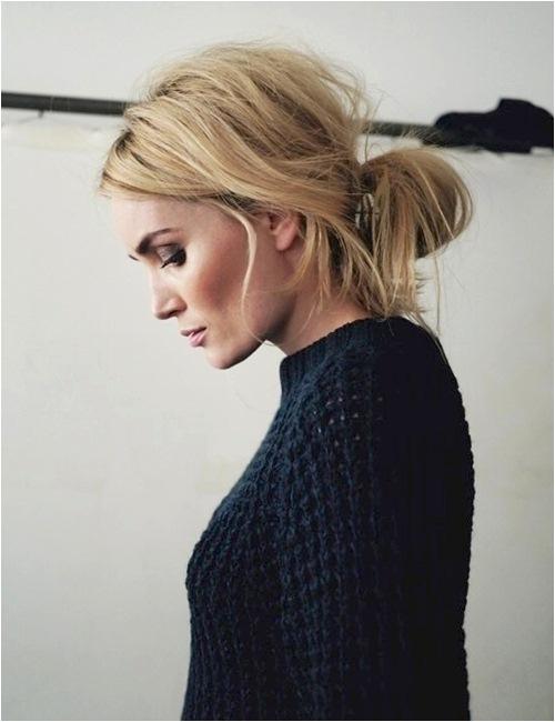 BST 4 kiểu tóc búi siêu dễ thương cho nàng thu đông