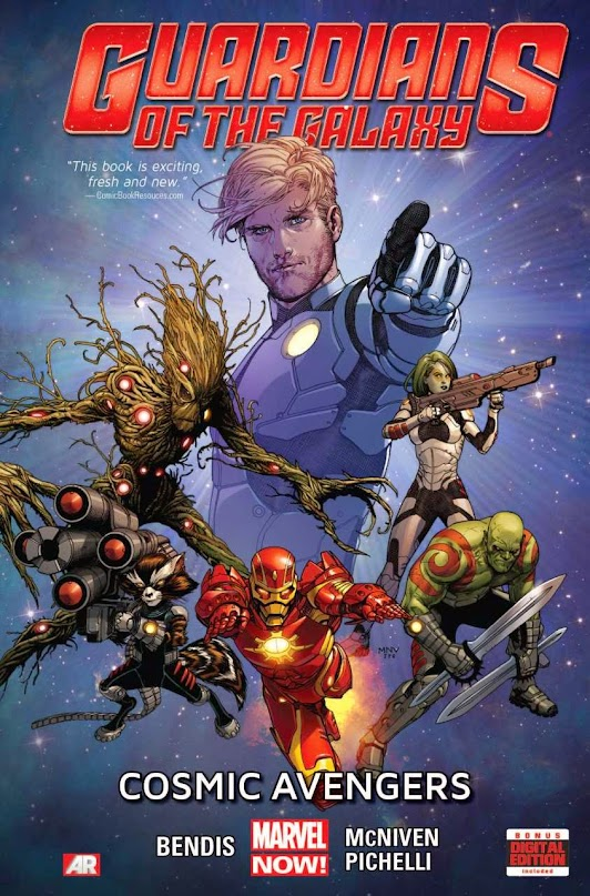 Guardians of the Galaxy, v. 1: Cosmic Avengers cover