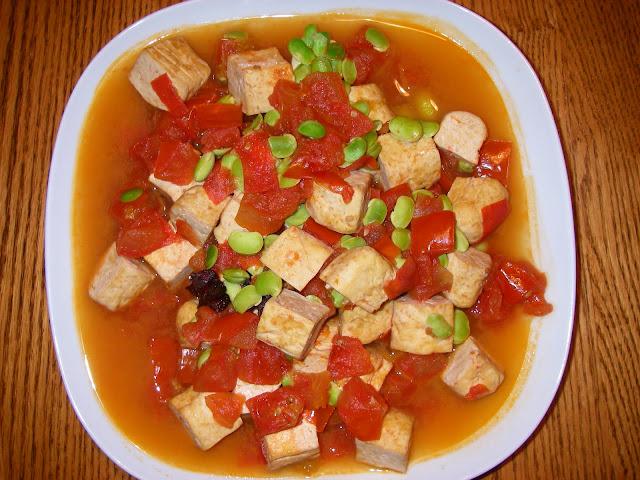 柑仔蜜臭豆腐