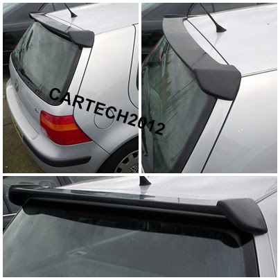 vw golf 4 mk4 rear roof spoiler golf iv ver 2 tuning. Black Bedroom Furniture Sets. Home Design Ideas