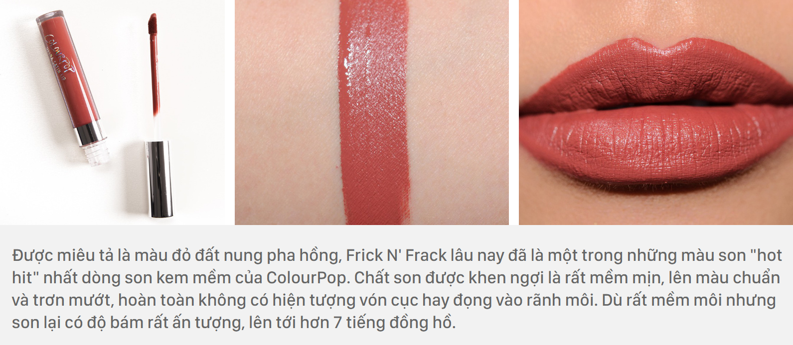 ColourPop Ultra Satin Liquid Lipstick màu Frick N' Frack