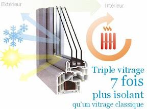ks services 13 quelles sont les performances du triple vitrage. Black Bedroom Furniture Sets. Home Design Ideas