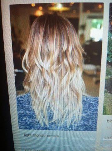 hairinspiration, blonde, ombre, haircolour