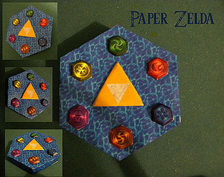 Chamber of Sages Papercraft