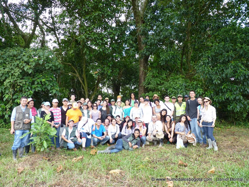 Salida de campo Villavicencio, humedal Coroncoro