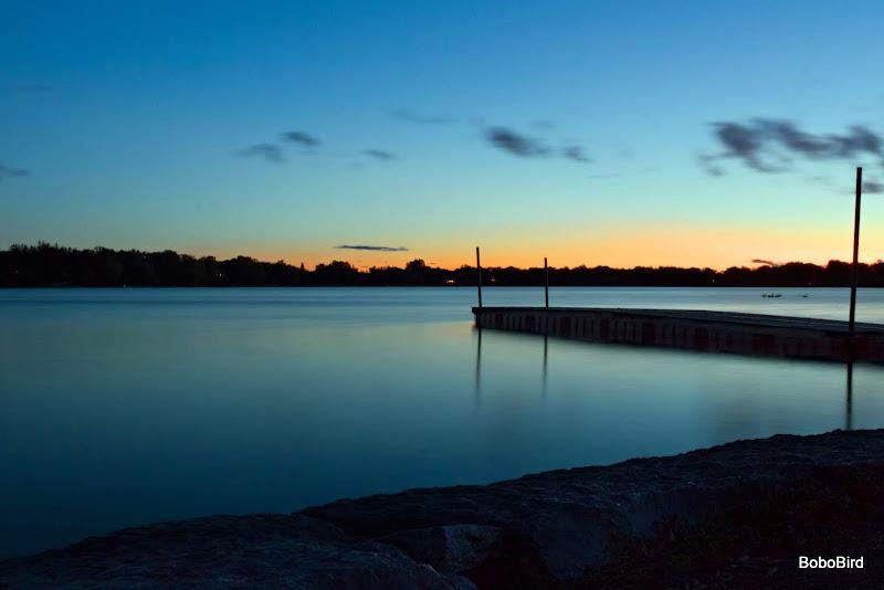 Sunset at the lake