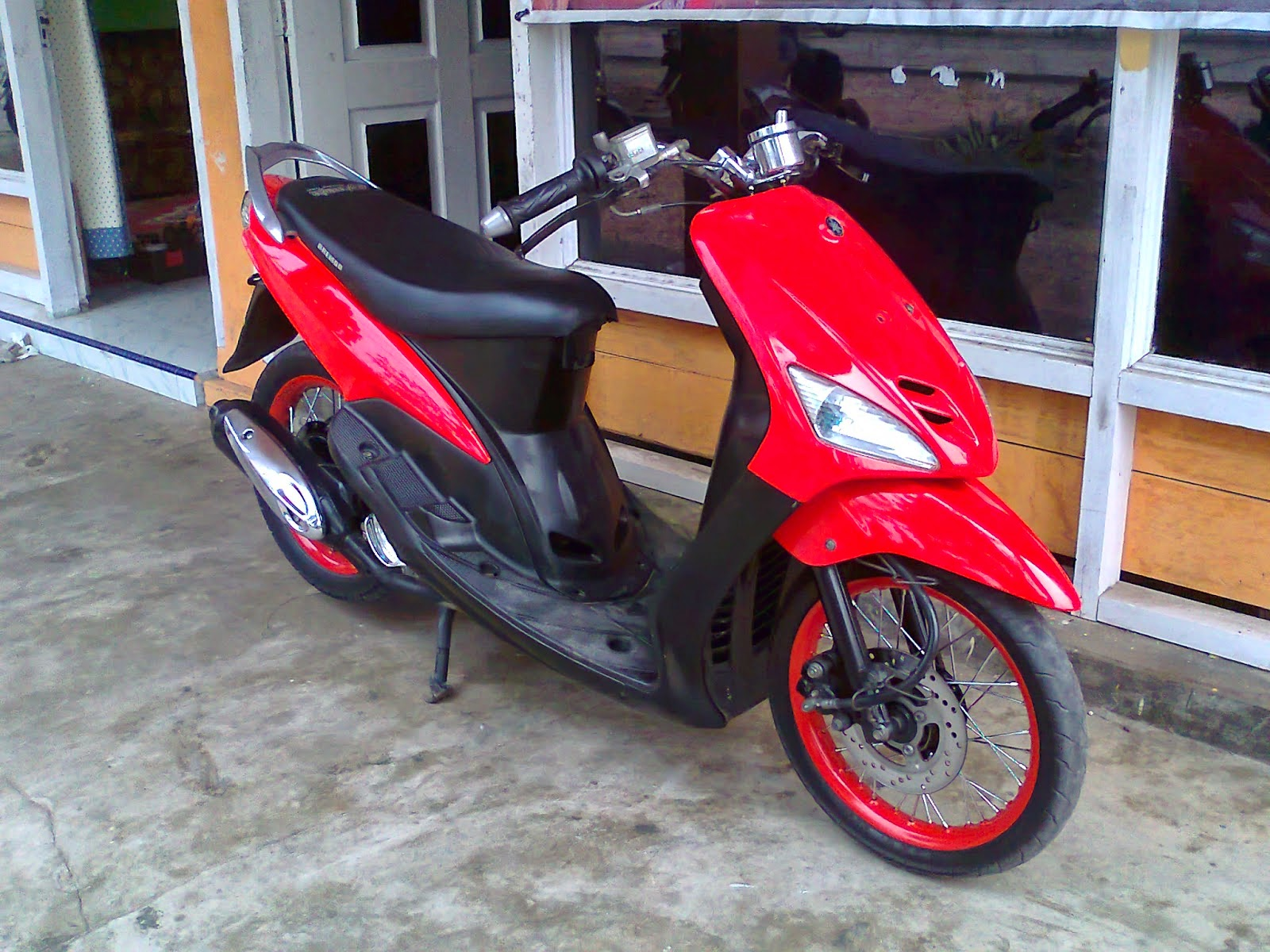 modifikasi mio sporty simple terkeren