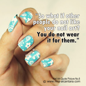 Nail Art Quote Picture No. 8