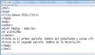 Resultado de imagen de HTML EJEMPLO