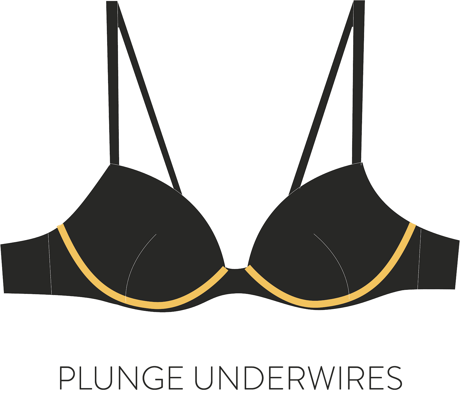 plunge underwires illustration