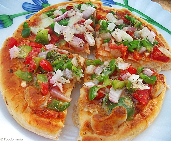 Garden Fresh Pizza Recipe