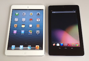 Nexus7とiPad mini