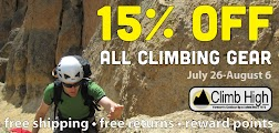 Climb High Coupon Code September 2013