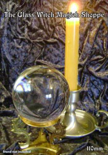 Wonderful 110Mm Clear Crystal Ball With Crystal Stand Dg 40 00