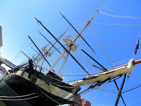 USS Constellation Inner Harbor Baltimore Maryland