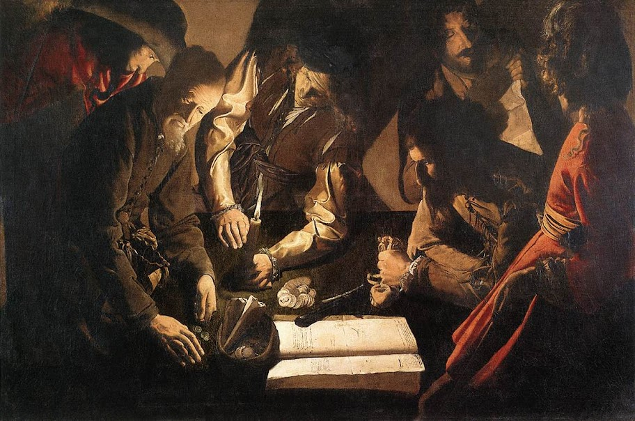 Georges de La Tour - The Payment of Dues