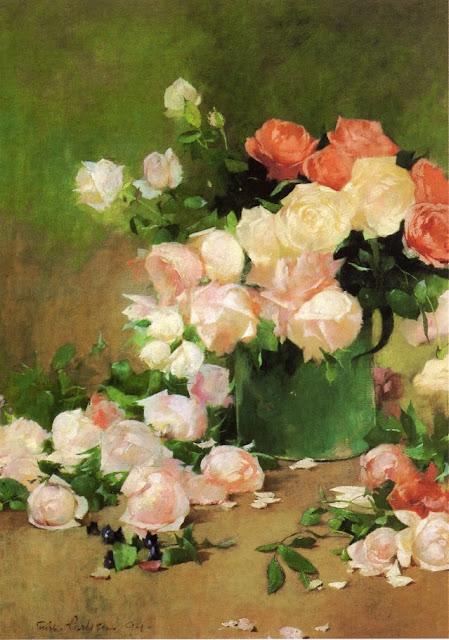 Emil Carlsen - Roses