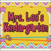 Mrs. Lee's Kindergarten