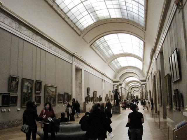 広い廊下@ルーヴル美術館