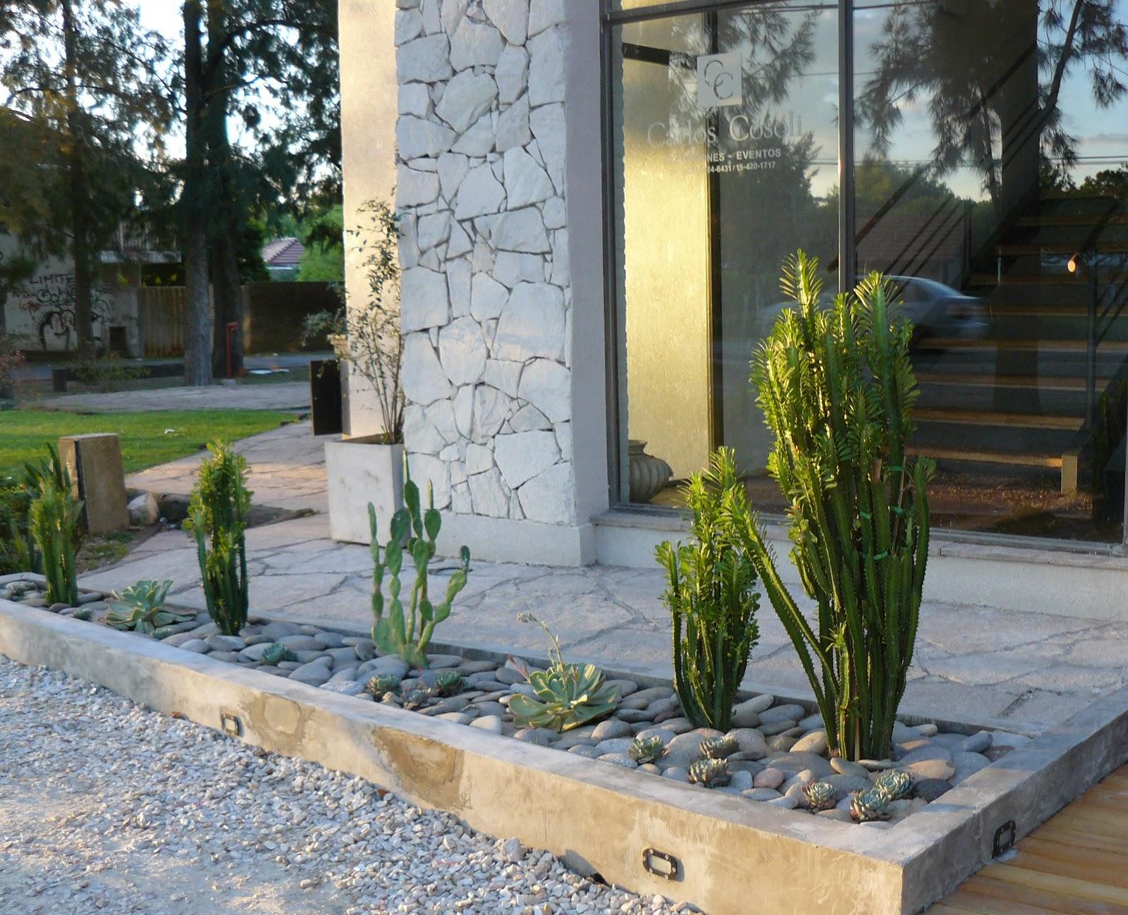 Jardines de cactus y suculentas jard n de cactus y suculentas - Jardines con cactus y piedras ...