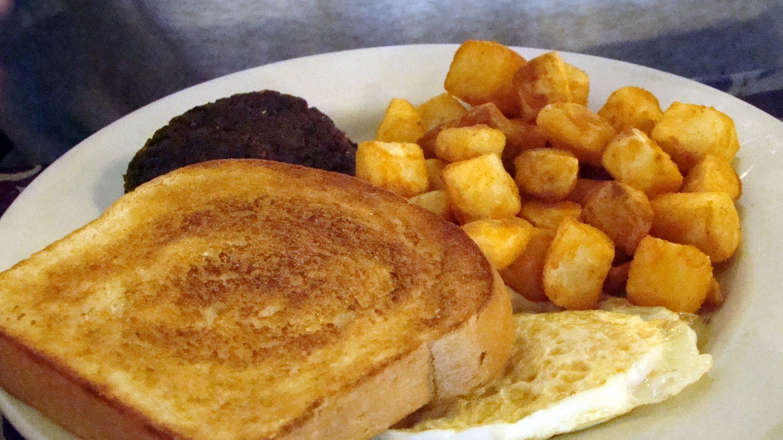 the bear cupboard: breakfast at the baker's square