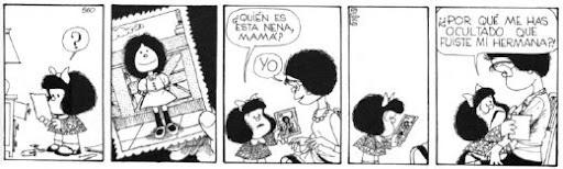 la mamá de mafalda también fue niña