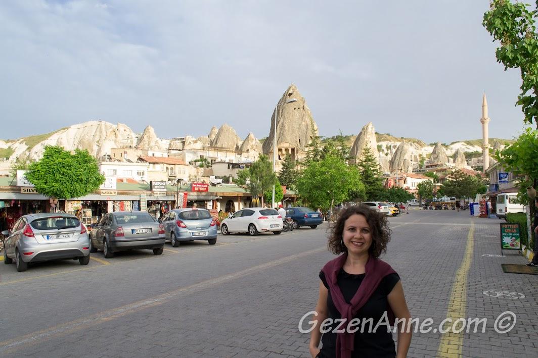 Göreme çarşısında dolaşırken, Kapadokya