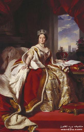 الملكه فكتوريا قصه حياه في لوحات