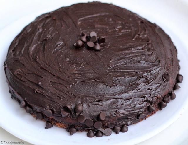 Devil's Food Cake Recipe | Moist, Fluffy Rich Coffee Chocolate Cake recipe by Kavitha Ramaswamy of Foodomania.com | Best Chocolate Cake Ever!