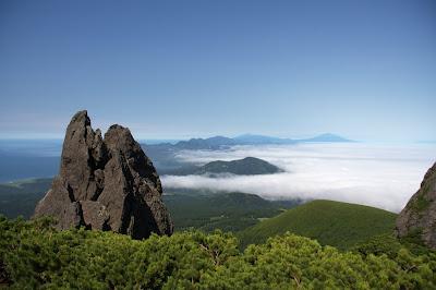Вершина вулкана Менделеева