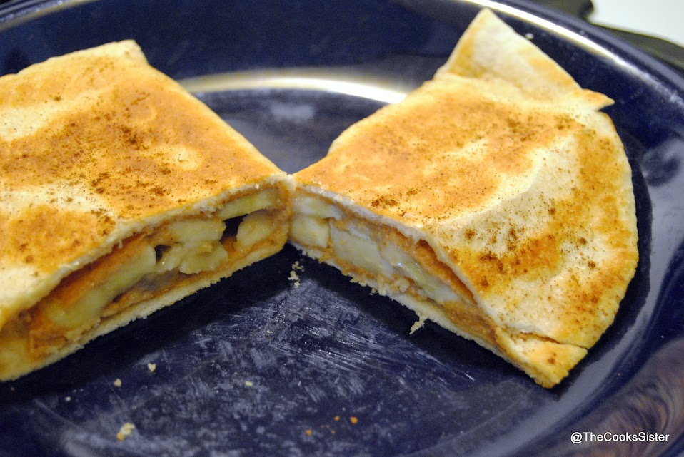 Breakfast Quesadillas with Peanut Butter and Bananas | The ...