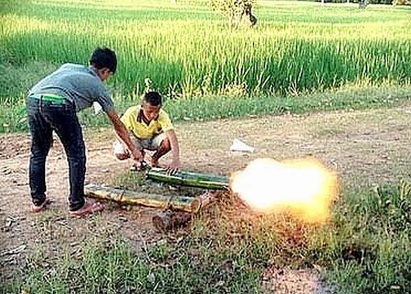 carbide cannon bamboo